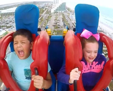 KIDS - Brother and Sister | Funny Slingshot Ride Compilation - kids brother and sister funny slingshot ride compilation