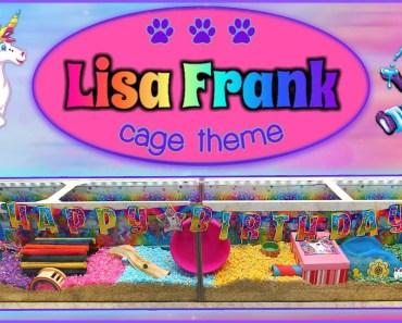 LISA FRANK Hamster Cage Theme! - lisa frank hamster cage theme