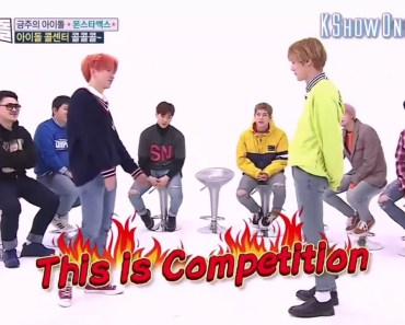 [MONSTA X FUNNY MOMENT] Minhyuk, Kihyun, and Hyungwon freestyle rap battle (Weekly idol engsub) - monsta x funny moment minhyuk kihyun and hyungwon freestyle rap battle weekly idol engsub