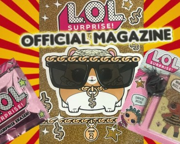 Official LOL Surprise Magazine #2 LOL Dolls Hamster, Free Surprise Toys, Games, L.O.L. Crafts + Quiz - official lol surprise magazine 2 lol dolls hamster free surprise toys games l o l crafts quiz
