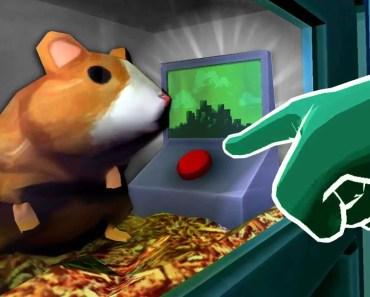 THE SECRET HAMSTER BUTTON - Please, Don't Touch Anything 3D (VR) - the secret hamster button please dont touch anything 3d vr