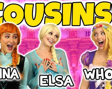 WHO IS ELSA AND ANNA'S COUSIN? (IS IT ARIEL, BELLE OR RAPUNZEL?) Totally TV Dress Up - who is elsa and annas cousin is it ariel belle or rapunzel totally tv dress up