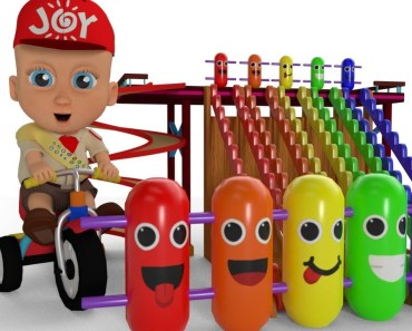 Learn Colors for Children with Baby Game Play Wooden Toy Funny Clown Tumbling 3D Kids Educational - learn colors for children with baby game play wooden toy funny clown tumbling 3d kids educational