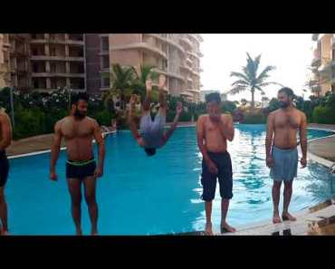 Learn how to do funny backflip in pool YouTube - learn how to do funny backflip in pool youtube