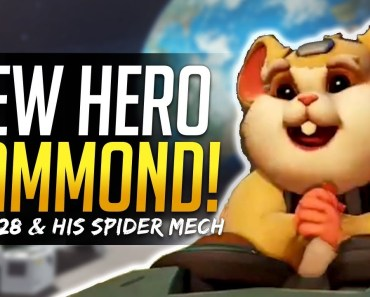 Overwatch NEW HERO 28 REVEAL! - Hammond the Hamster and Spider Mech! - overwatch new hero 28 reveal hammond the hamster and spider mech