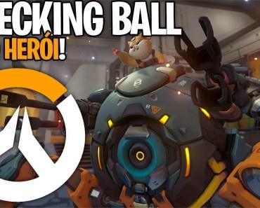 TESTANDO O NOVO HERÓI DO OVERWATCH, WRECKING BALL, O TANK HAMSTER! PTR - testando o novo heroi do overwatch wrecking ball o tank hamster ptr