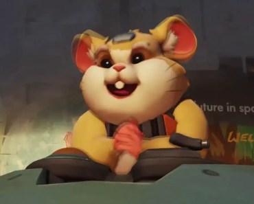 Hammond the Wonder Hamster - New Overwatch Character! - hammond the wonder hamster new overwatch character