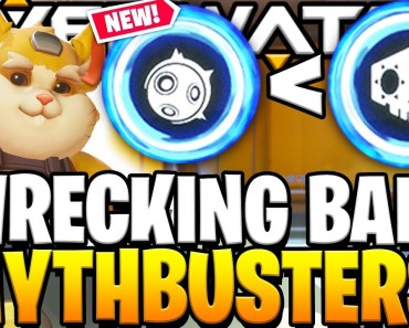"OVERWATCH NEW HERO ""WRECKING BALL"" MYTHBUSTERS!! - ALL ABILITIES AND ULTIMATE TESTS! - overwatch new hero wrecking ball mythbusters all abilities and ultimate tests"