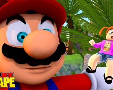 Roblox Escape Mario Adventure Obby With Molly! - The Toy Heroes Games - roblox escape mario adventure obby with molly the toy heroes games