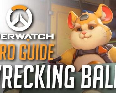 Wrecking Ball - Overwatch Hero Guide - wrecking ball overwatch hero guide