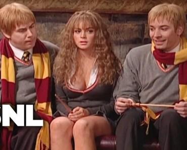 Harry Potter: Hermione Growth Spurt - SNL - harry potter hermione growth spurt snl