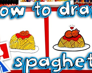 How To Draw Funny Spaghetti And Meatballs - how to draw funny spaghetti and meatballs