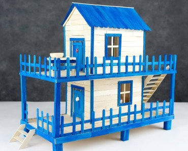 How to Make Popsicle Stick House for Hamster - how to make popsicle stick house for hamster