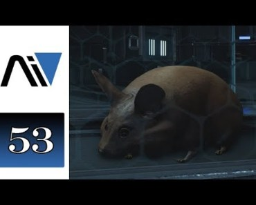 Let's Play Mass Effect Andromeda (Blind) - 53 - Space Hamster! - lets play mass effect andromeda blind 53 space hamster