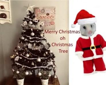 O CHRISTMAS TREE ! A HAMSTER'S CHRISTMAS - o christmas tree a hamsters christmas