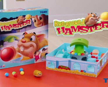 TOMY Run-Around Hamster Commercial - tomy run around hamster commercial