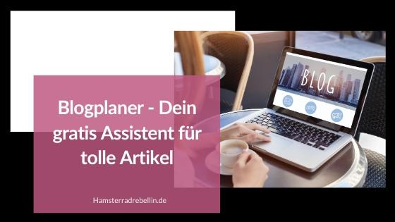 Blogplaner Beitragsbild