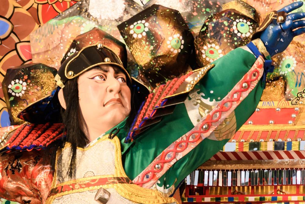 新天町・飾り山笠表の写真