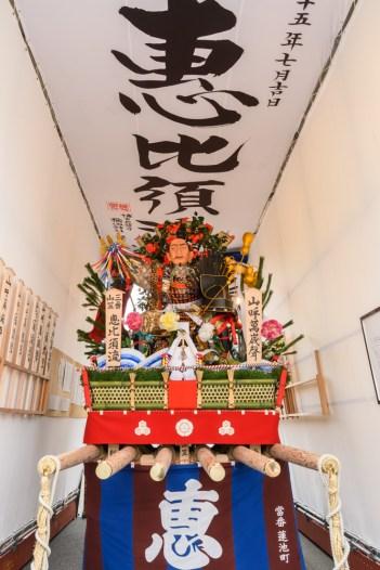 恵比寿流・舁き山笠の写真