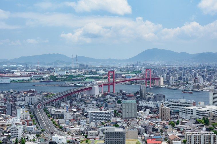 若戸大橋の写真