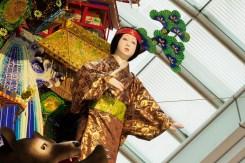 博多リバレイン・飾り山笠の写真