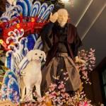 博多祇園山笠・東流の飾り山笠の写真