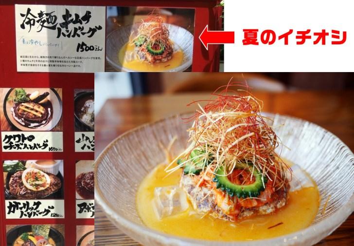 山本のハンバーグ 冷麺キムチハンバーグ