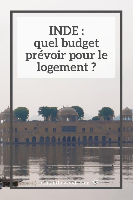 Budget logement pour 3 semaines en Inde