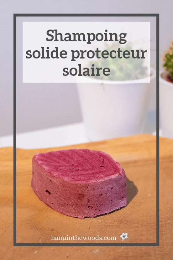 Shampoing protecteur solaire