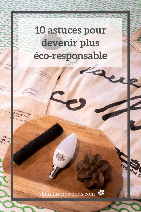 Devenir plus eco-responsable