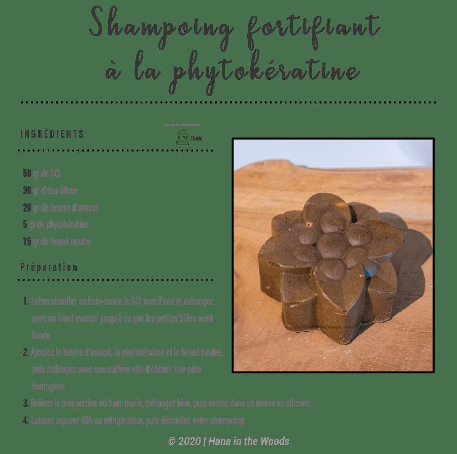 Shampoing à la phytokératine