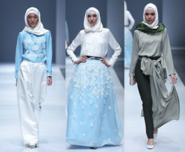 Model Pakaian Hijab Yang Akan Tampil di Ajang Indonesia Fashion Week 2016