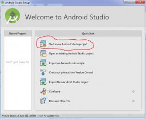 Tutorial menggunakan android studio 2