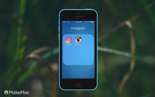 cara mengembalikan logo lama instagram 2
