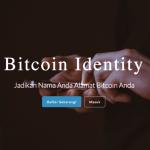 Cara Menggunakan Alamat Bitcoin Dengan Nama Sendiri