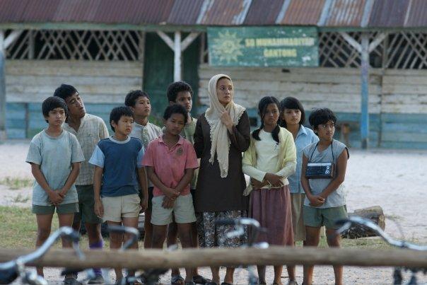 Foto-foto dari film Laskar Pelangi (3/6)