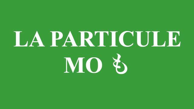 La particule mo も