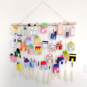 hanging Ramadan advent calendar