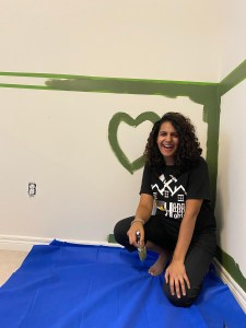 Painting your walls green