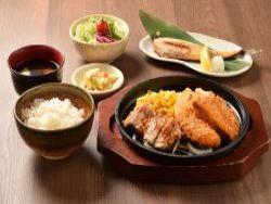 Chicken Menchikatsu