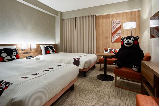 Mitsui Garden Hotel Kumamoto (web) Standard Twin (Bear Room)