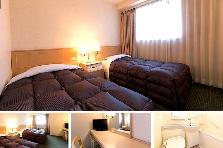 Washington Hotel Plaza Hida Takayama (WEB) Twin Room