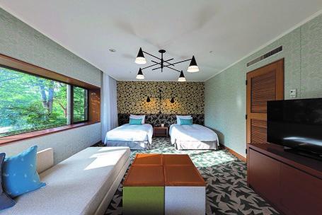 Prince Hotel Karuizawa East (web) Forest Corner Twin Room