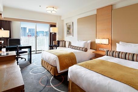 Grand Prince Hotel New Takanawa Superior Modern Twin with Balcony Room (O)