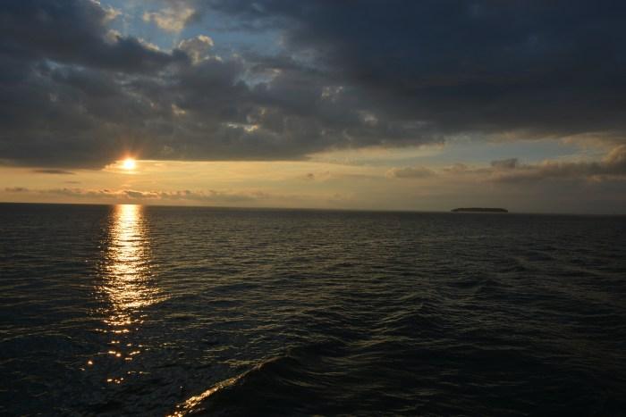 The Sun Setting on Lake Erie