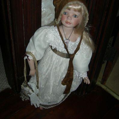 doll, upstairs hall