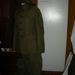 uniform closeup, John's rm