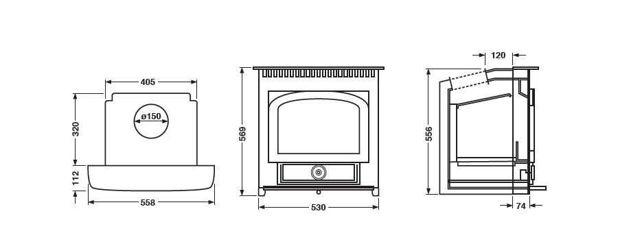 Clearview Vision Inset (5kW)