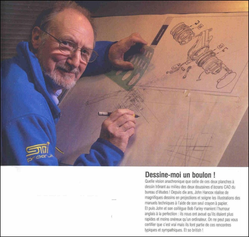 Article written about John by a French engineering magazine