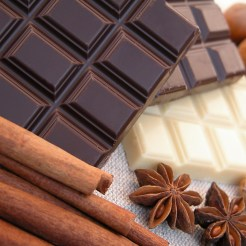 Chocolate and other ingredients